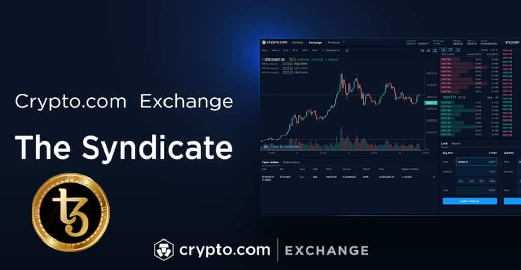 Crypto.com to Start Listing of Tezos (XTZ) on the Syndicate